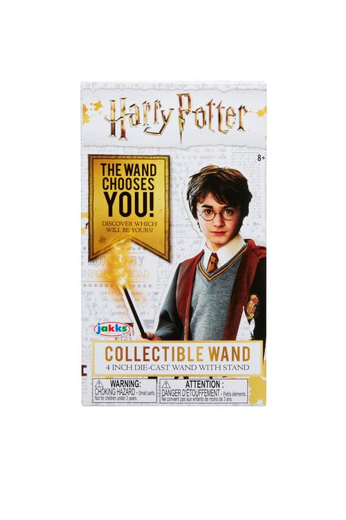 "Harry Potter  Harry Potter Die Cast Wands Series 2 Collectible Wand 4"" Die Cast wand with Stand"