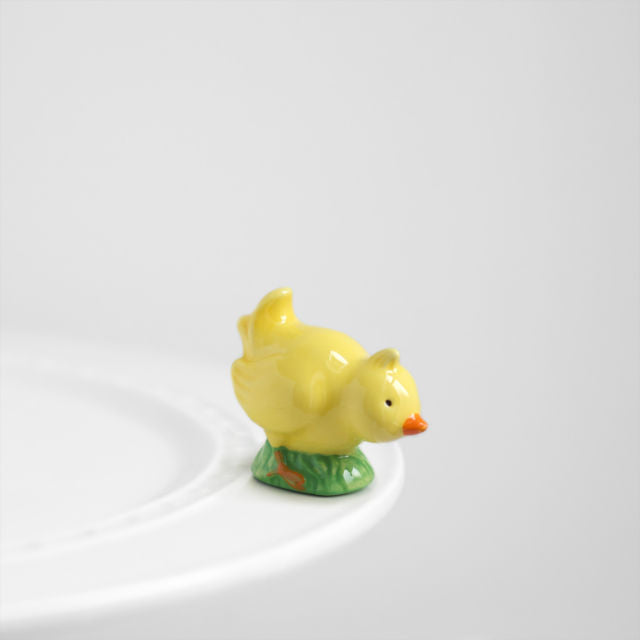 Nora Fleming Mini - Chicky Baby - Hand-Painted Ceramic Charm - A93