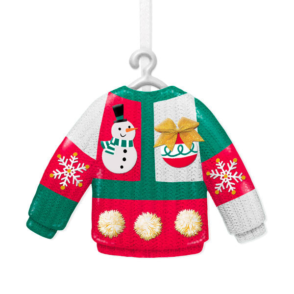 Hallmark Tacky Christmas Sweater Ornament