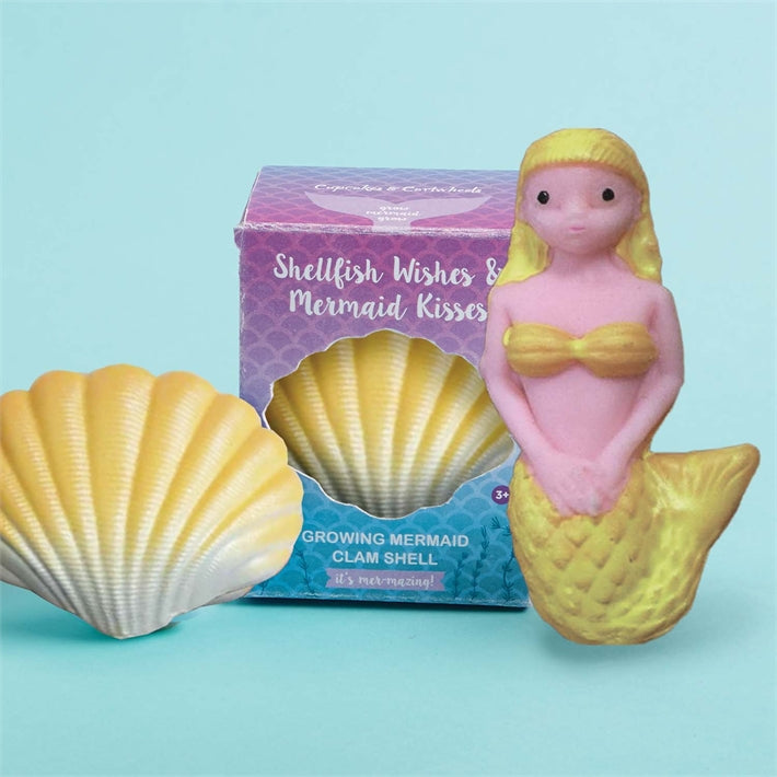 Cupcakes & Cartwheels Shellfish Wishes & Mermaid Kisses - Random Color