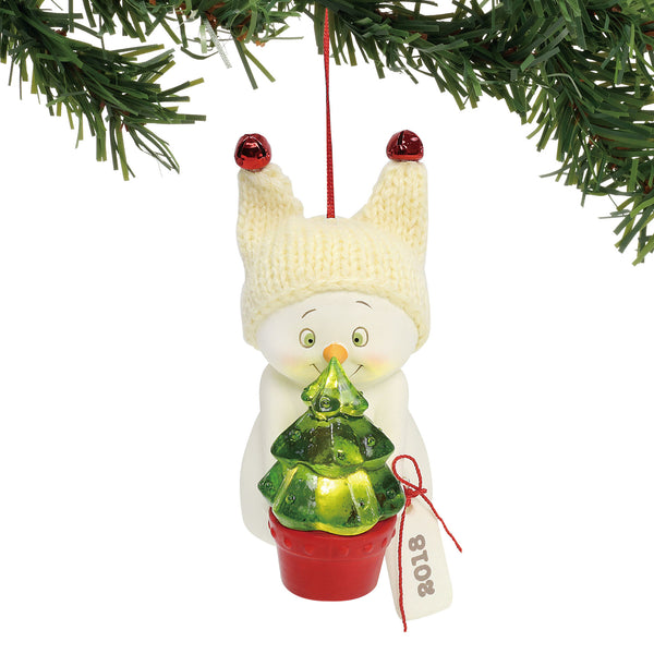 Department 56 Snowpinions By the Light of the Tree Ornament, 3.25""