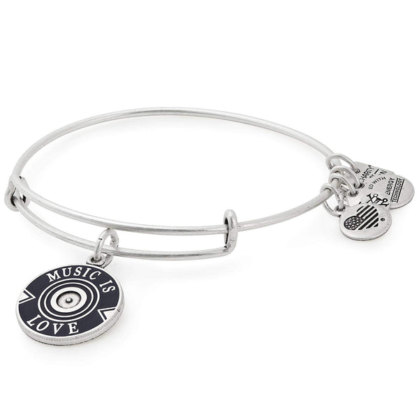 Alex and Ani Women's Charity by Design Music is Love Bangle