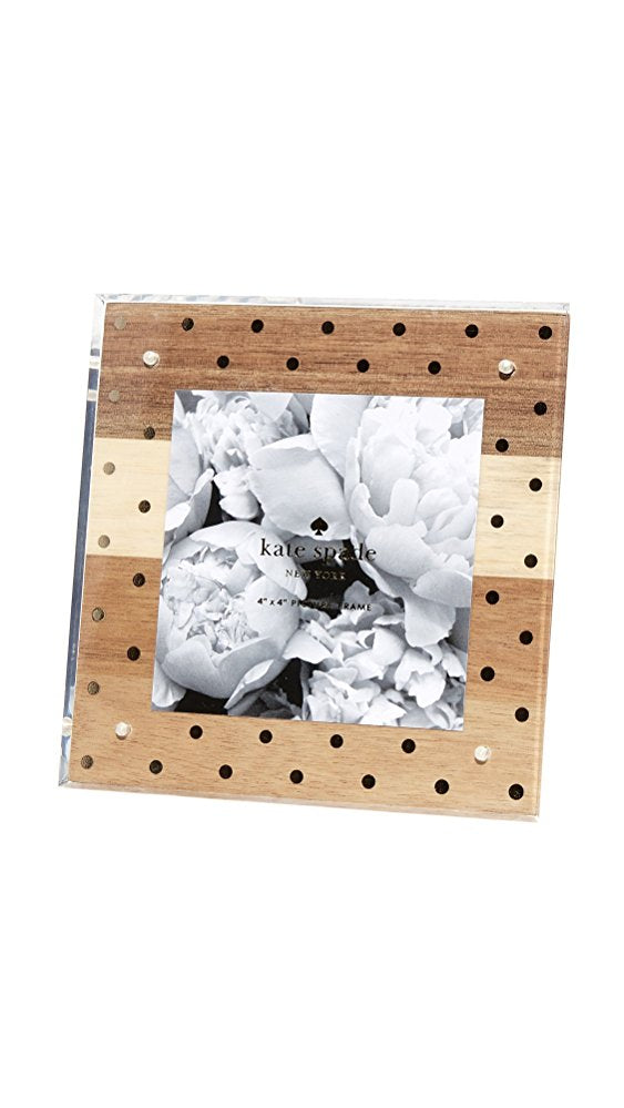 Kate Spade New York Women's Wood & Acrylic Picture Frame