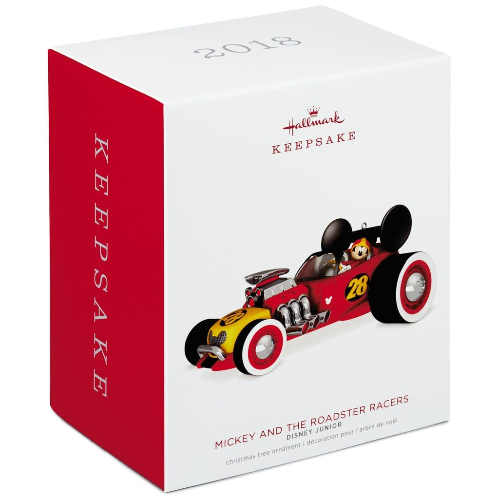 Hallmark Keepsake 2018 Disney Junior Mickey and the Roadster Racers Ornament