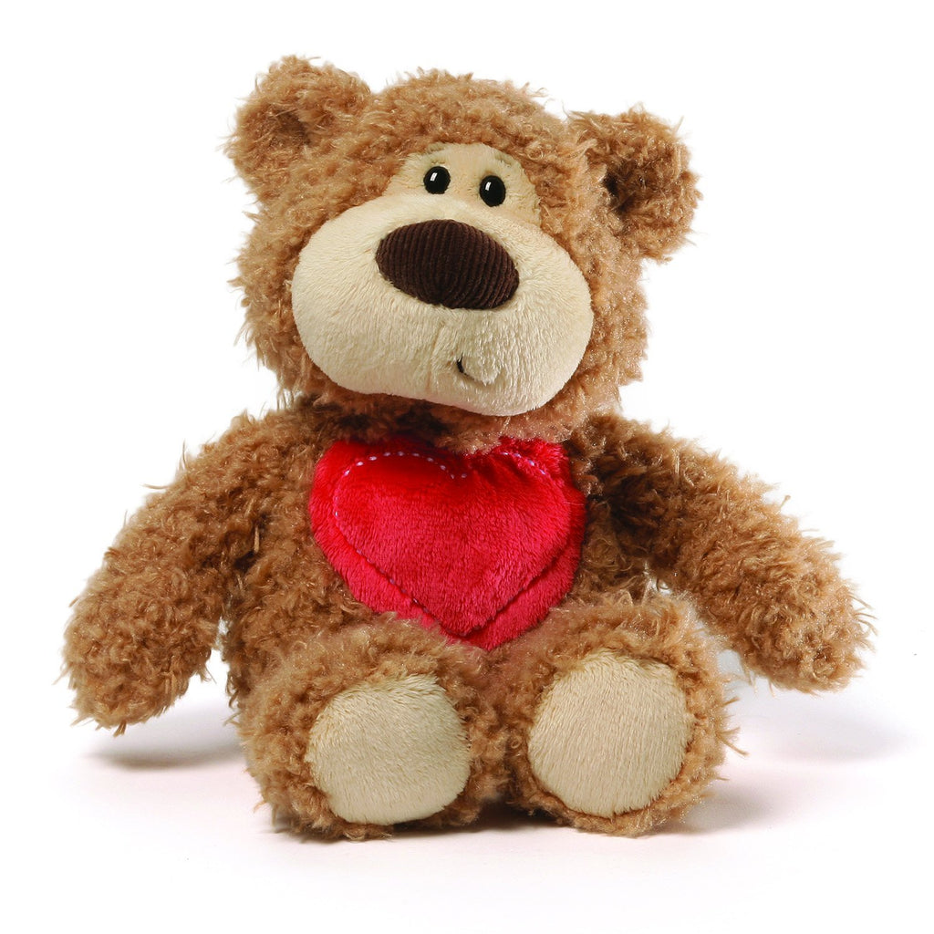 GUND Addy Sweetheart Bear Plush, 11""