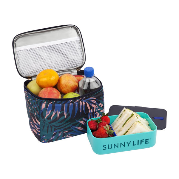SUNNYLIFE Lunch bag Electric Bloom Navy Blue