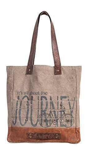 Mona B All About The Journey Tote Canvas Bag M-3702