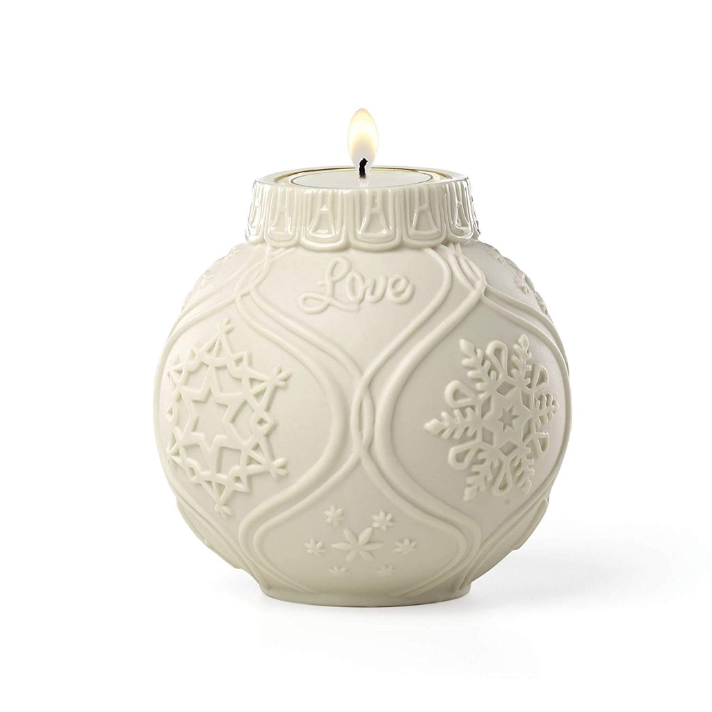 Lenox Ornamental Glow Snowflake Votive with Tealight