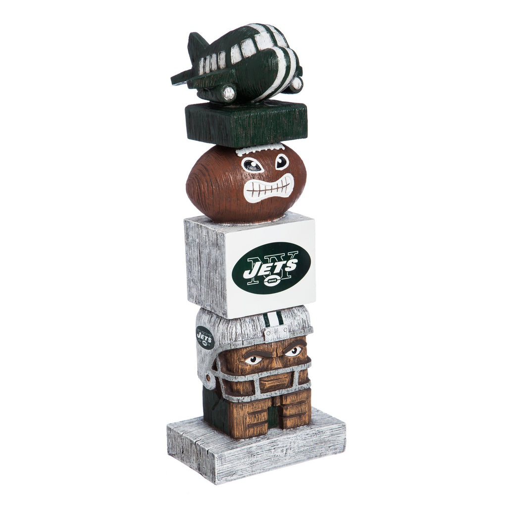 Evergreen Team Sports America NFL Tiki Totem, NY Jets