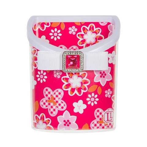 Lockerlookz (Tm) Magnetic Locker Bin-Pink Flower