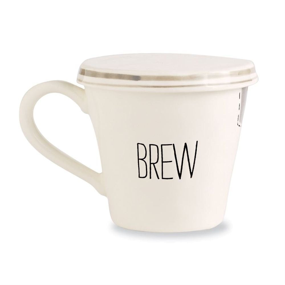 Mud Pie Bistro Tea Mug, BREW