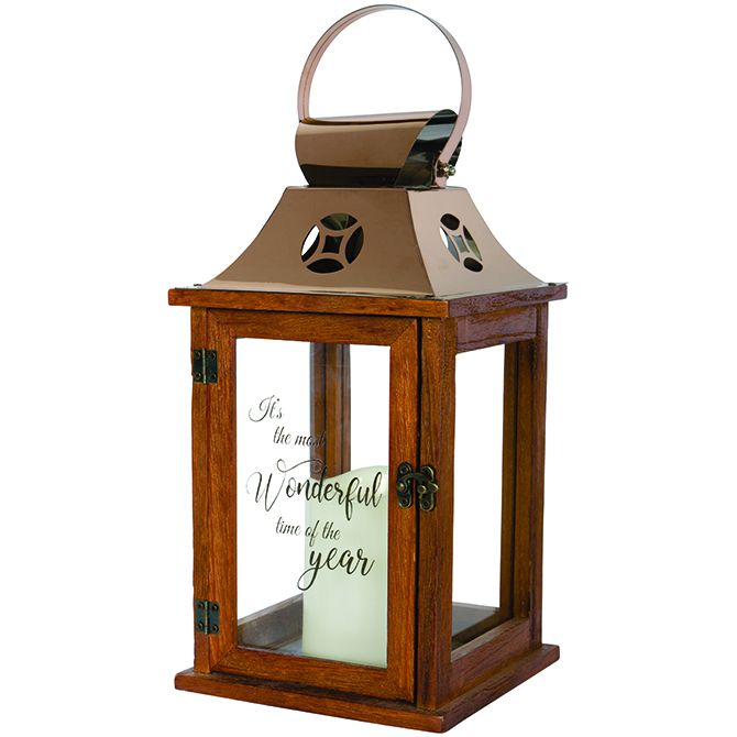 "Carson ""Time Of The Year"" Candle Lantern"
