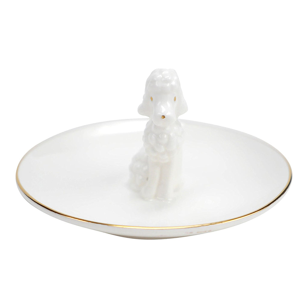 Plum & Punch Poodle Trinket Tray