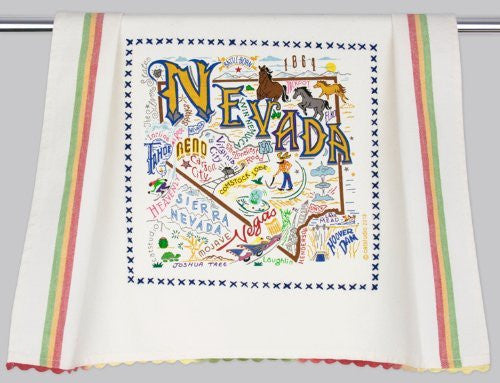 Catstudio Nevada Dish Towel - Original Geography Collection Décor 037NV-CS