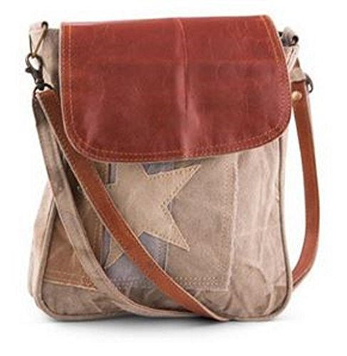 Mona B Lola Crossbody Canvas Bag M-3606