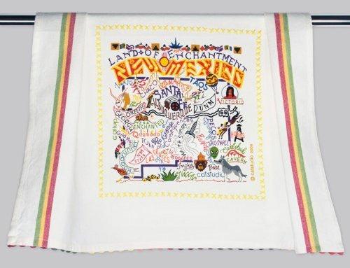 Catstudio New Mexico Dish Towel - Original Geography Collection Décor 040D(CS)