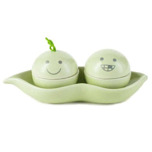 Hallmark Two Peas in a Pod Curl and Tooth Memory Box