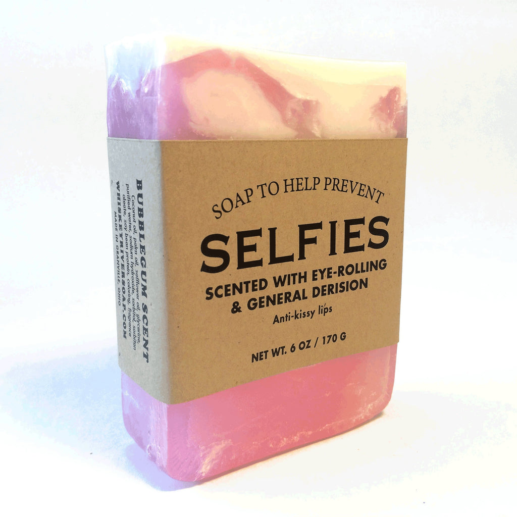 Whiskey River Soap Co. - Soap to Help Prevent Selfies, 6 oz, Bubblegum Scented