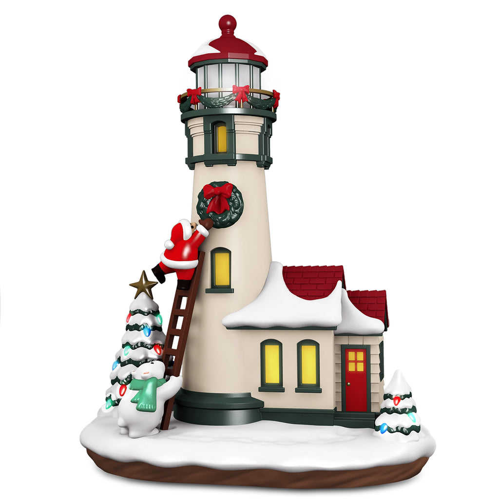 Hallmark Keepsake 2018 Luminous Lighthouse Musical Table Decoration With Light