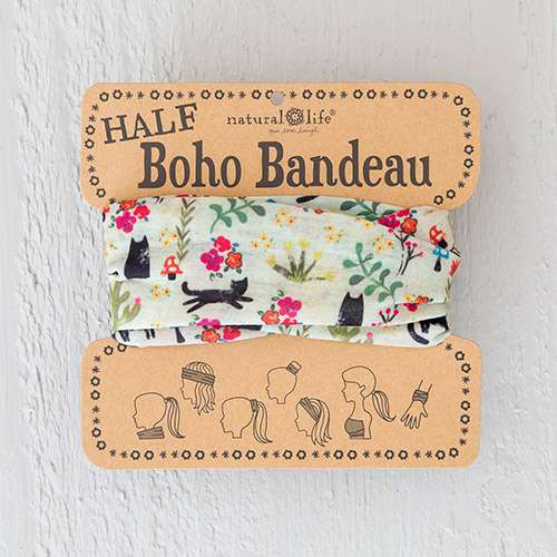 Natural Life Cats! Half Boho Bandeau