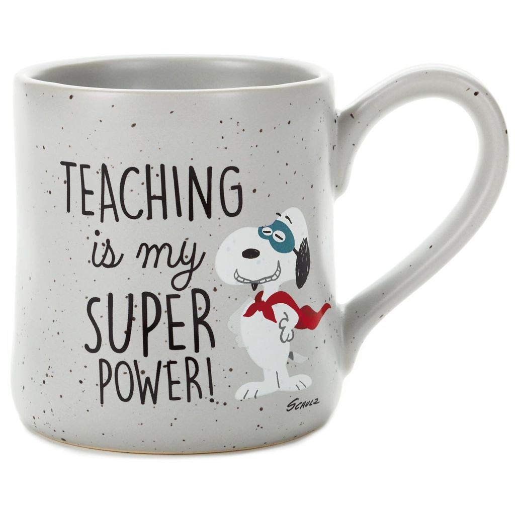 Peanuts Snoopy Teaching Is My Super Power Mug, 16 oz