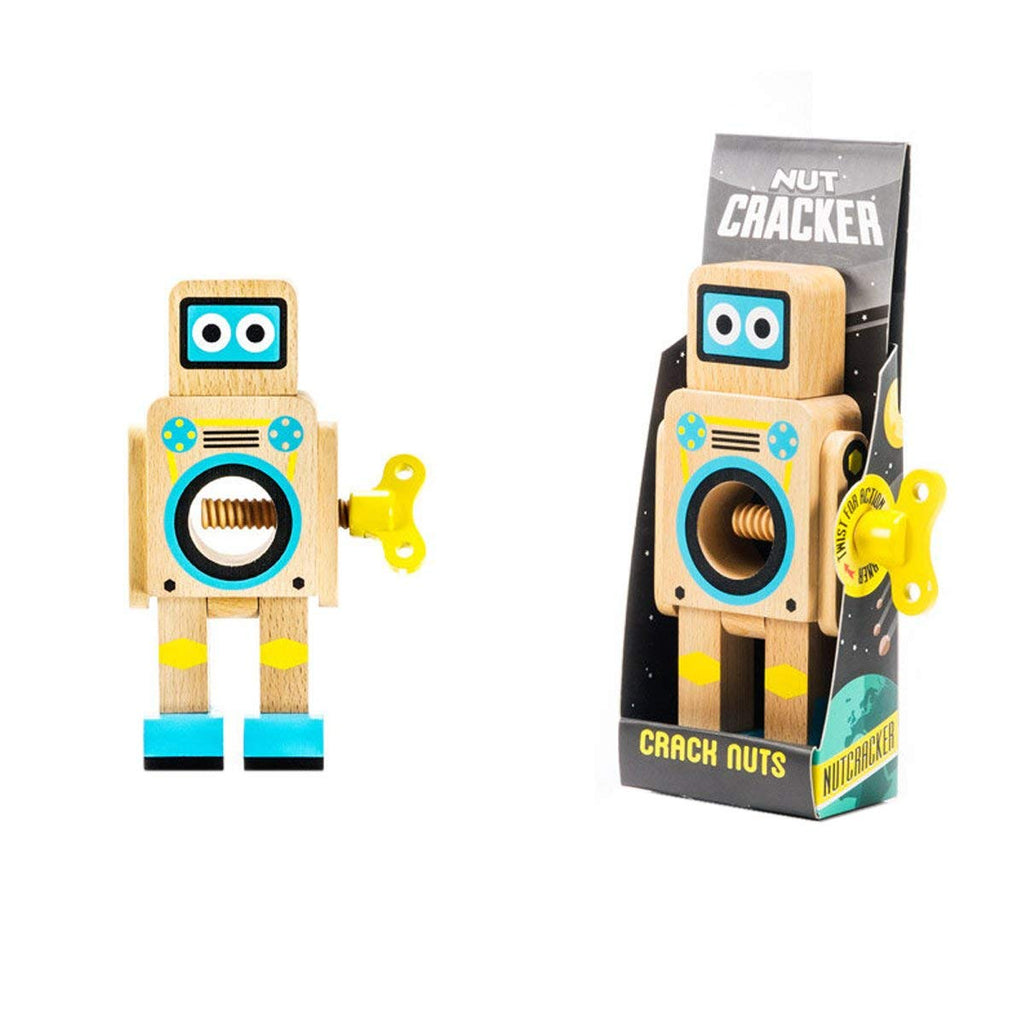 SUCK UK Robot Nutcracker - Natural