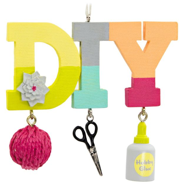 DIY Crafting Hallmark Ornament