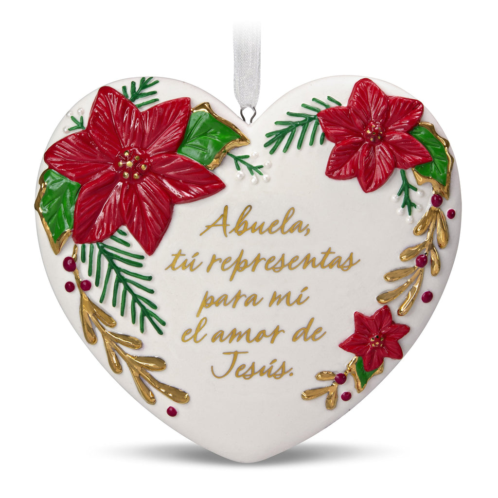 Hallmark Keepsake 2018 Abuela Spanish-Language Porcelain Ornament