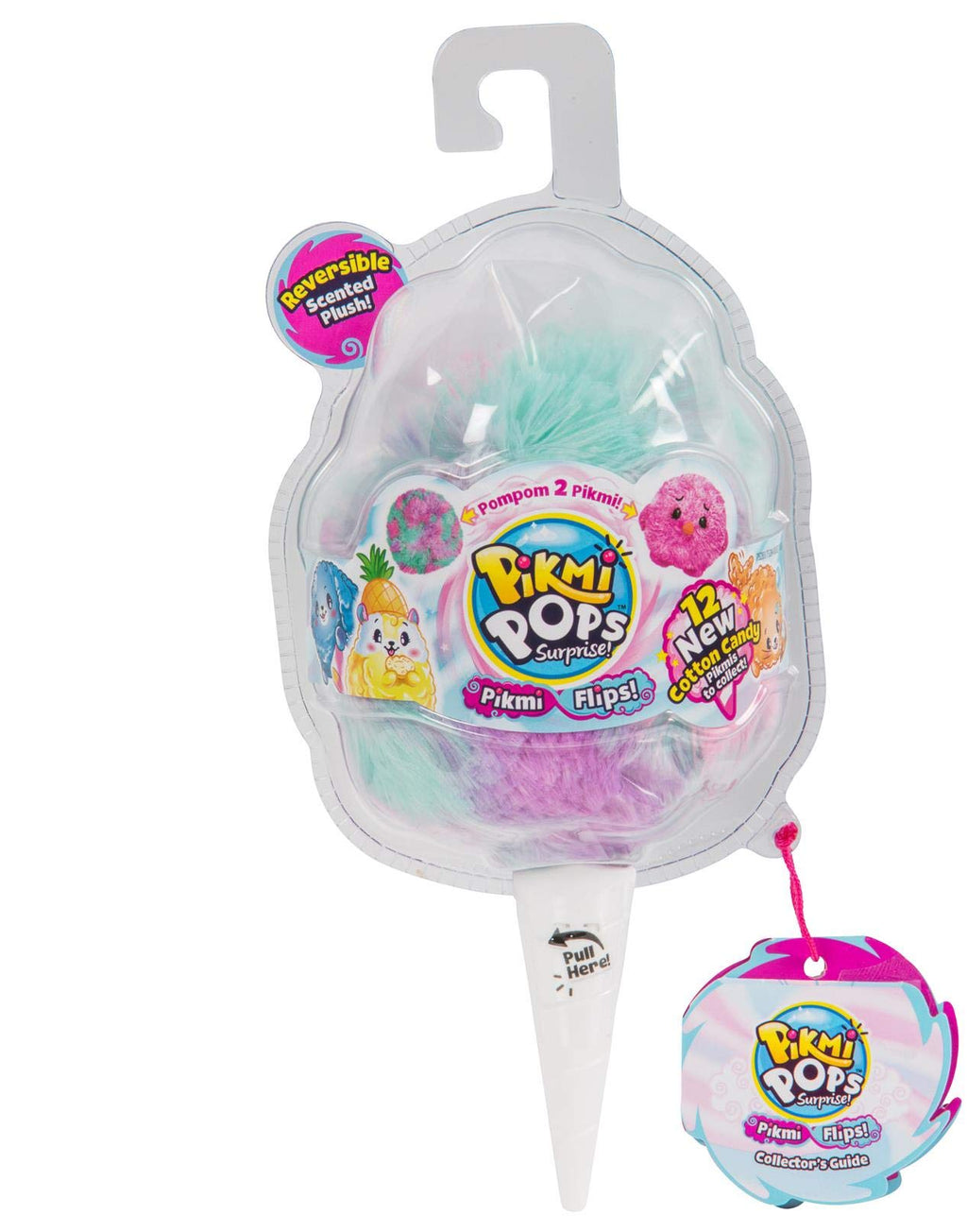 Pikmi Pops Surprise! Flips! Series 4 Mystery Pack Reversible Scented Soft & Fluffy Plush!