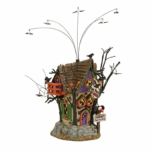 Department 56 Halvl Poe'S Perch Aviary Lit_house