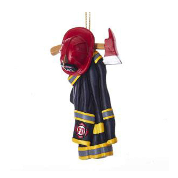 Kurt Adler Firefighter Uniform Ornament