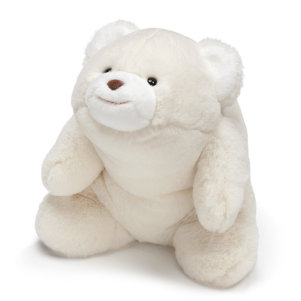 GUND Snuffles Teddy Bear Stuffed Animal Plush, White, 10""