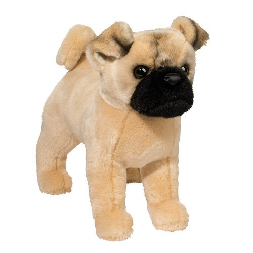 Douglas Toys Russo Pug Stuffed Animal 14""