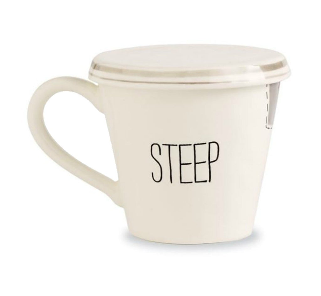 Mud Pie Bistro Tea Mug, STEEP