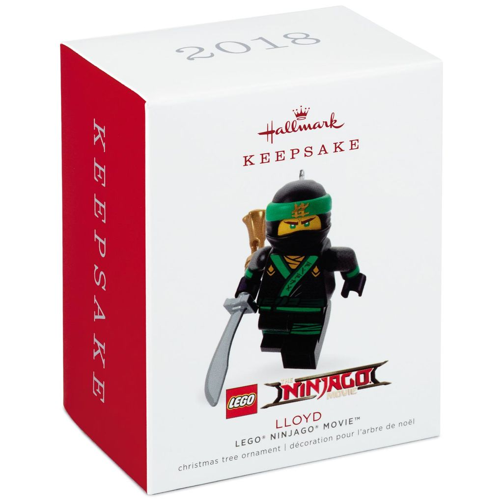 Hallmark Keepsake 2018 THE LEGO® NINJAGO® MOVIE™ Lloyd Ornament