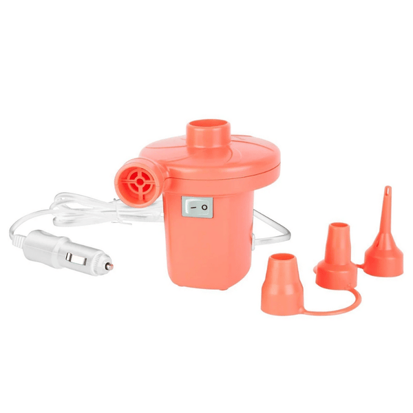 SunnyLife Neon Orange Electric Air Pump