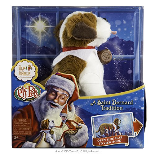 The Elf on the Shelf Pets: A St. Bernard Tradition Plush