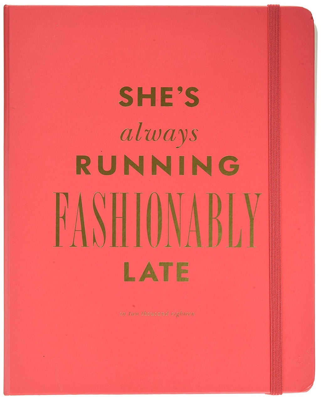 Kate Spade New York 17-Month Large Agenda Academic Calender - Fashionably Late