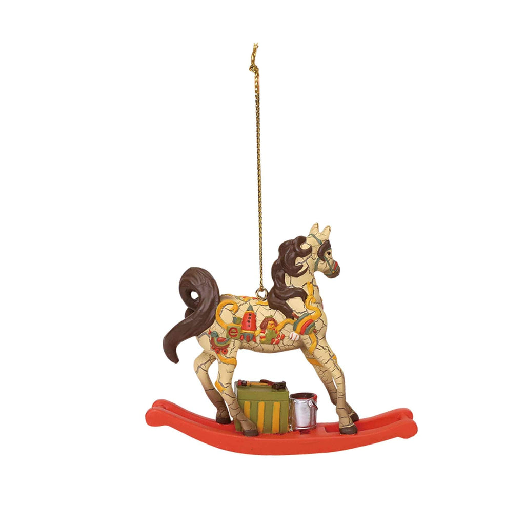 Enesco Department 56 Trail of Painted Ponies Santa's Workshop Ornament