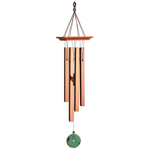 Woodstock Chimes Turquoise Chime - Eastern Energies Collection, 26""