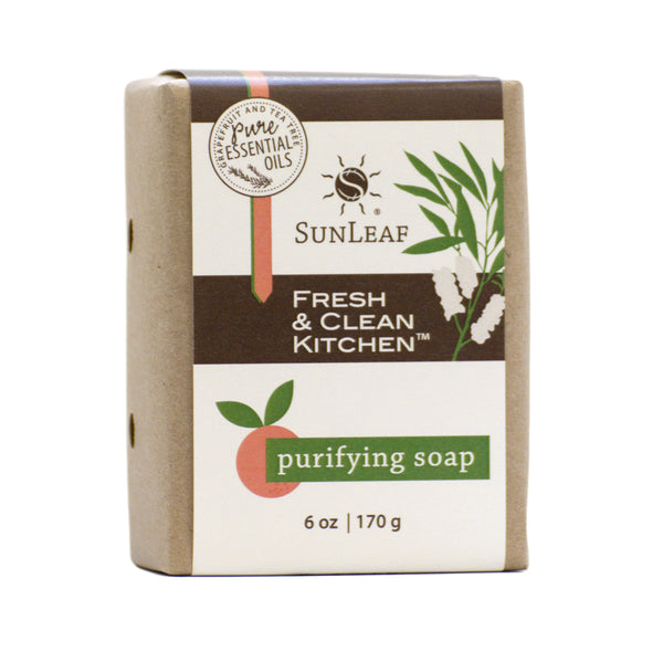 SunLeaf Fresh & Clean Kitchen™ Purifying Soap, 6 oz, 170 g