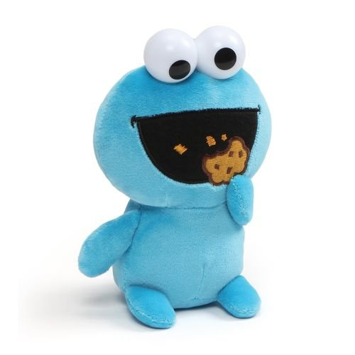 GUND Cookie Monster Emoji Plush, 6""