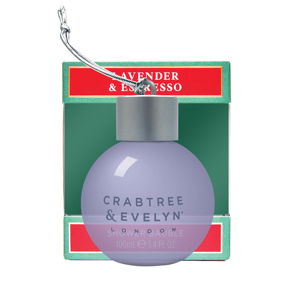 Crabtree & Evelyn Lavender & Espresso Shower Bauble 3.4 Fl. Oz./100ml