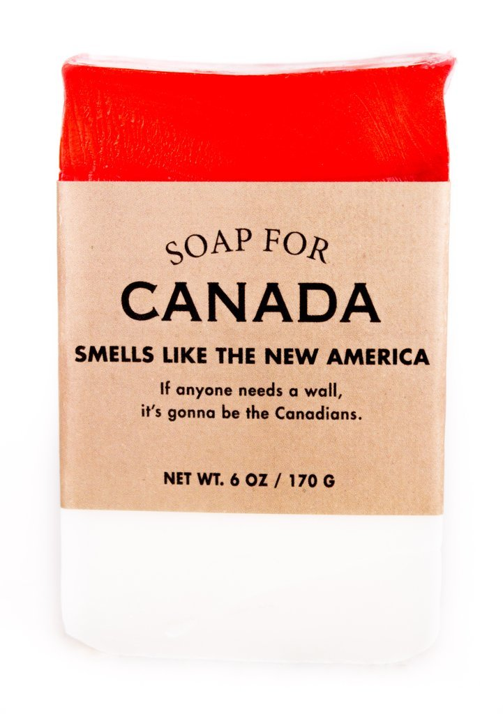 Whiskey River Soap Co. - Soap for Canada, 6 oz, Apple Pie Scented