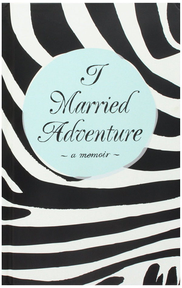 Kate Spade Bridal Notebook, I Married Adventure, Black
