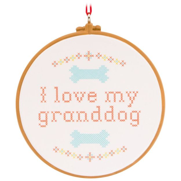 Love My Granddog Hallmark Ornament