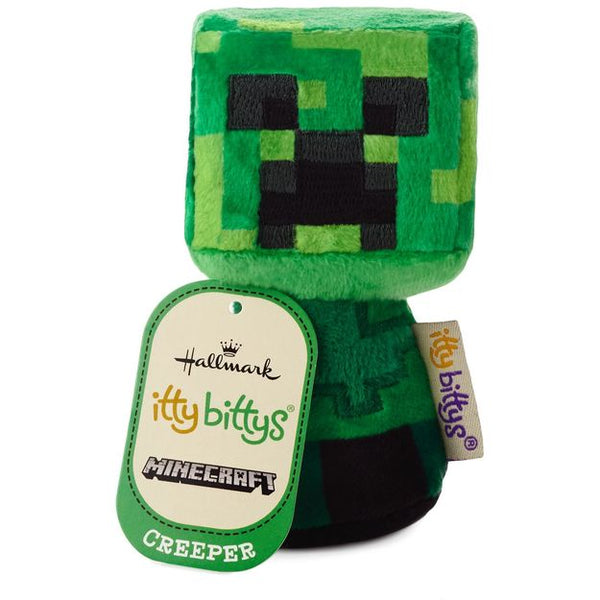 Hallmark itty bittys® Minecraft Creeper Stuffed Animal
