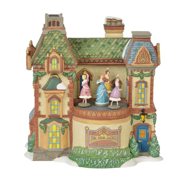 Department 56 Dickens Village Nine Ladies Dance Conservatory