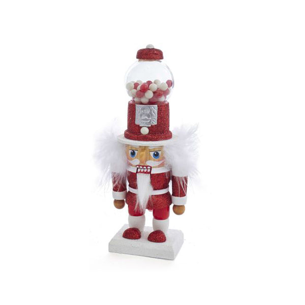Kurt Adler Hollywood Penny Candy Machine Red Hat Nutcracker, 8.5""