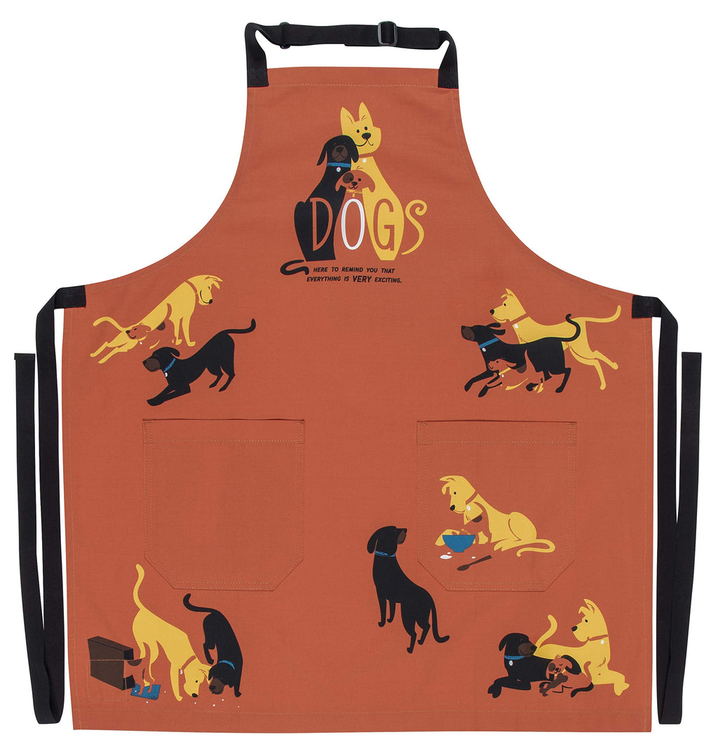 Blue Q Dogs Apron